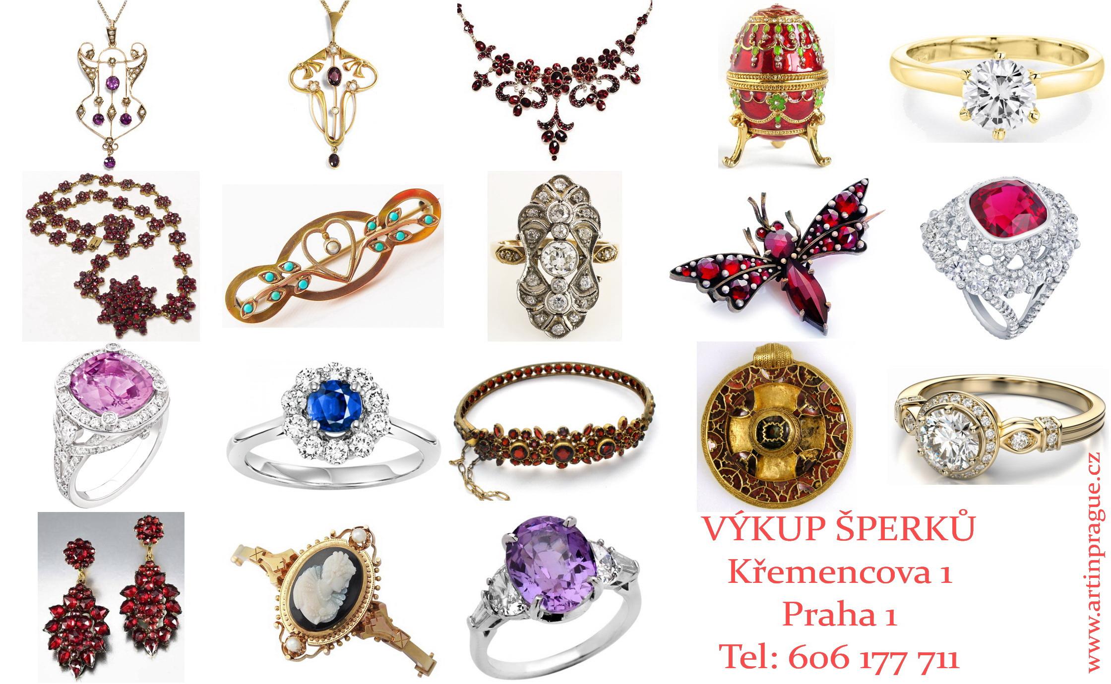 e75208217 Výkup zlata za hotové, výkup stříbra za hotové. Bazar starých šperků. Výkup  starožitností v Praze. Kde a jak prodat starožitný šperk - volejte na tel.